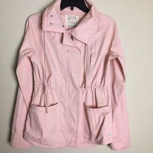 Billabong blush pink utility jacket